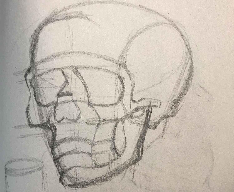 Skull Exercise 01-17-2019 001