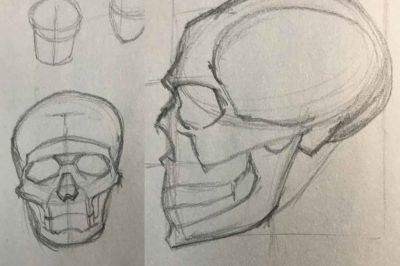 Skull Exercise 01-17-2019 002