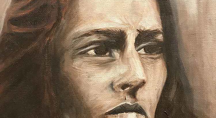 Underpainting Studies, Woman Portrait